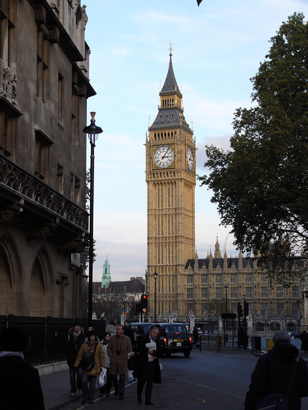 The Big Ben clock tower