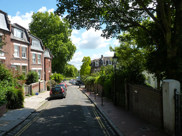 Hampstead street scene